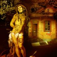 Saint Sabastian meets Bob Marley