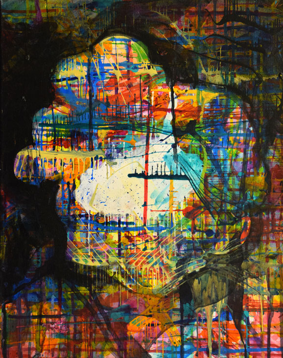 Dimensions & Medium: 18x24 - acrylic on canvas